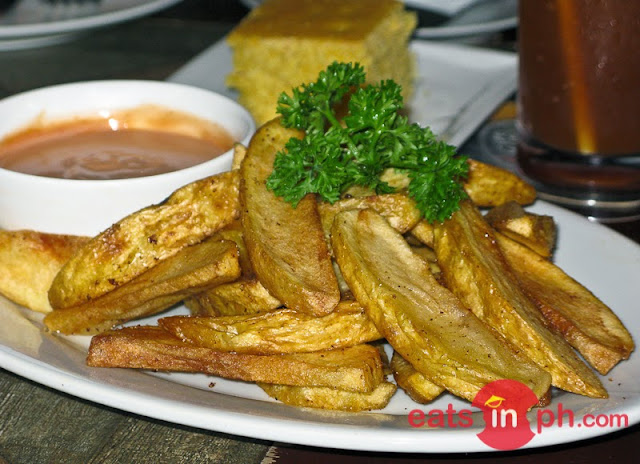 Deep Fried Potato Wedges from Cottage Kitchen Cafe in Angeles City Pampanga