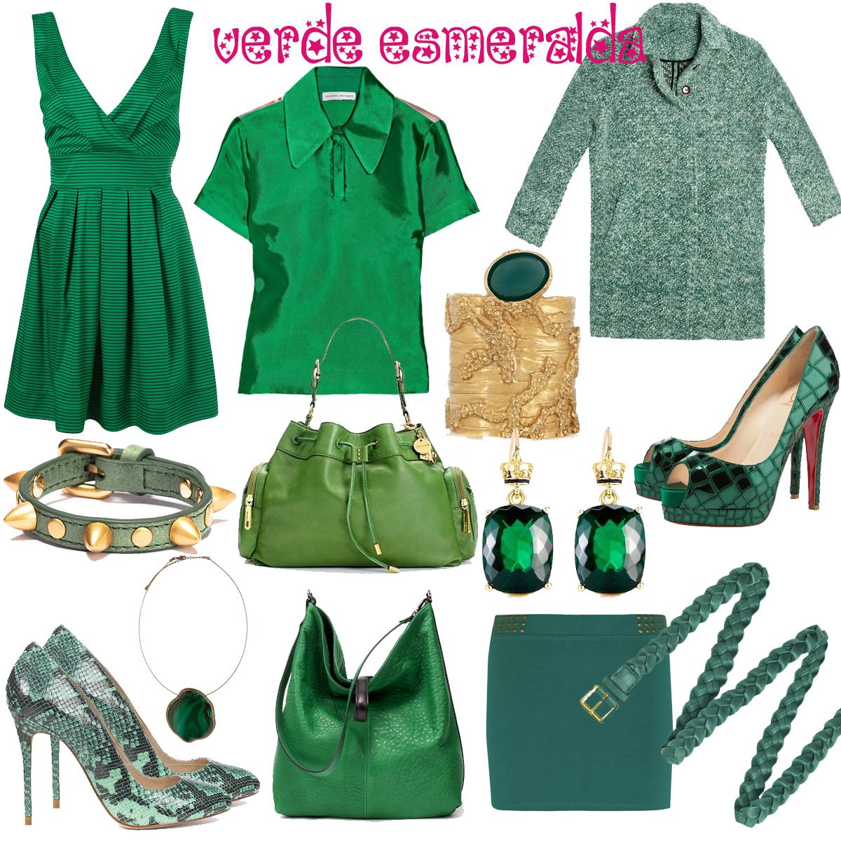 verde esmeralda: