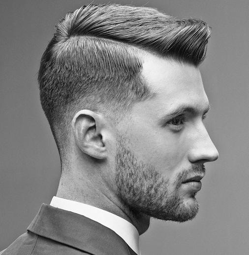 model rambut kantoran cowok yang bergaya