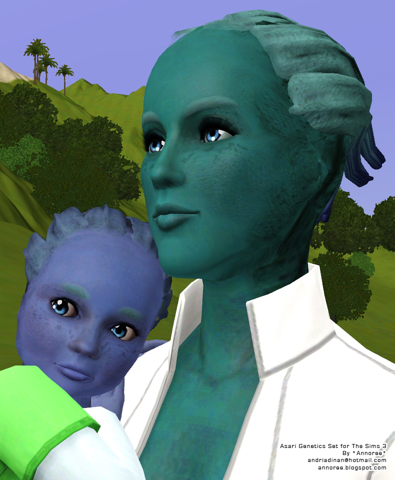 Asari Baby Annoree's Sims Blog: S...
