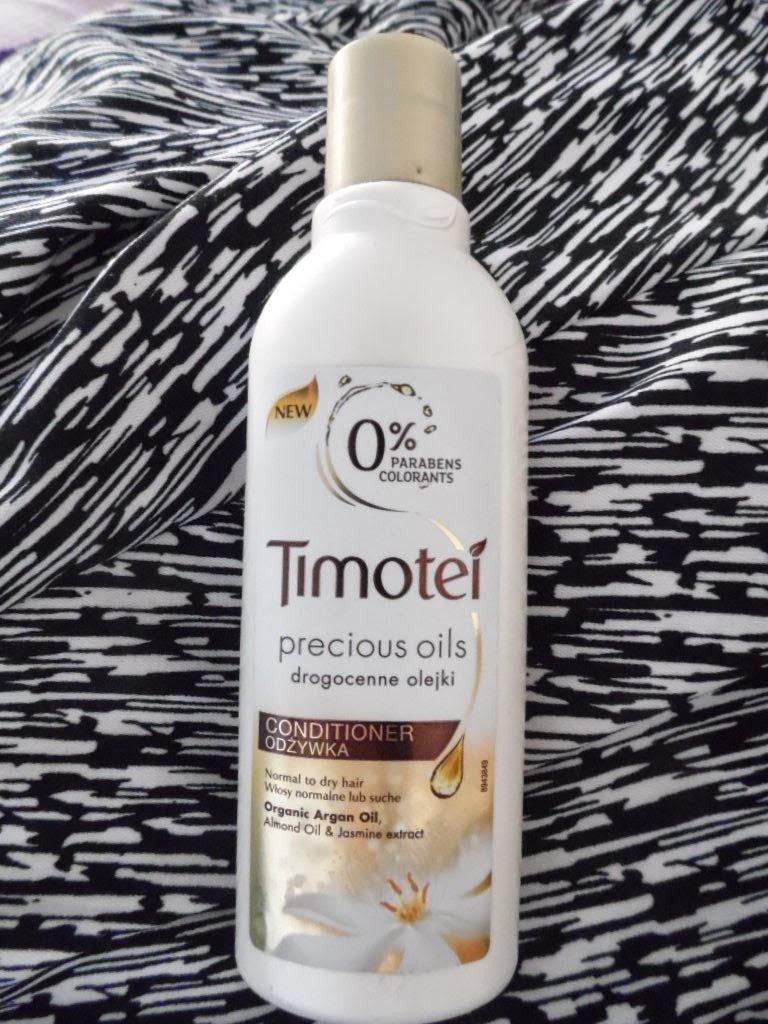 Odżywka Timotei precious oils, drogocenne olejki - recenzja