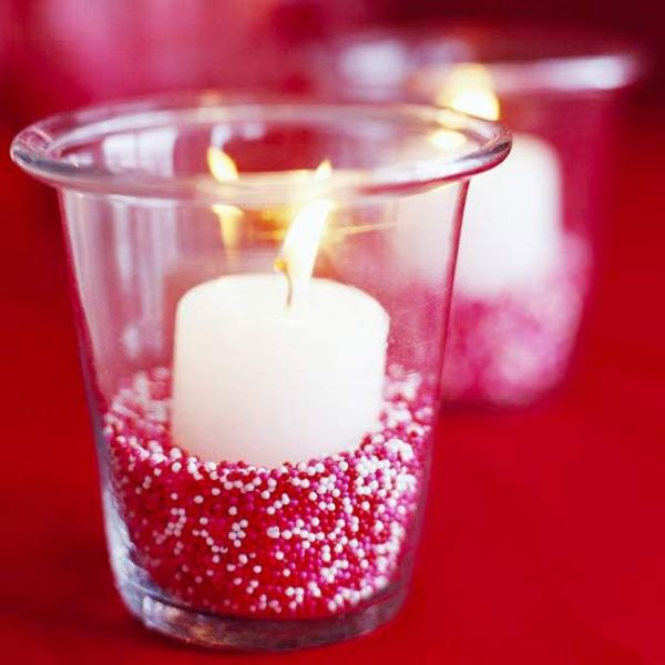Beautiful Candles For Valentine S Day Decoration