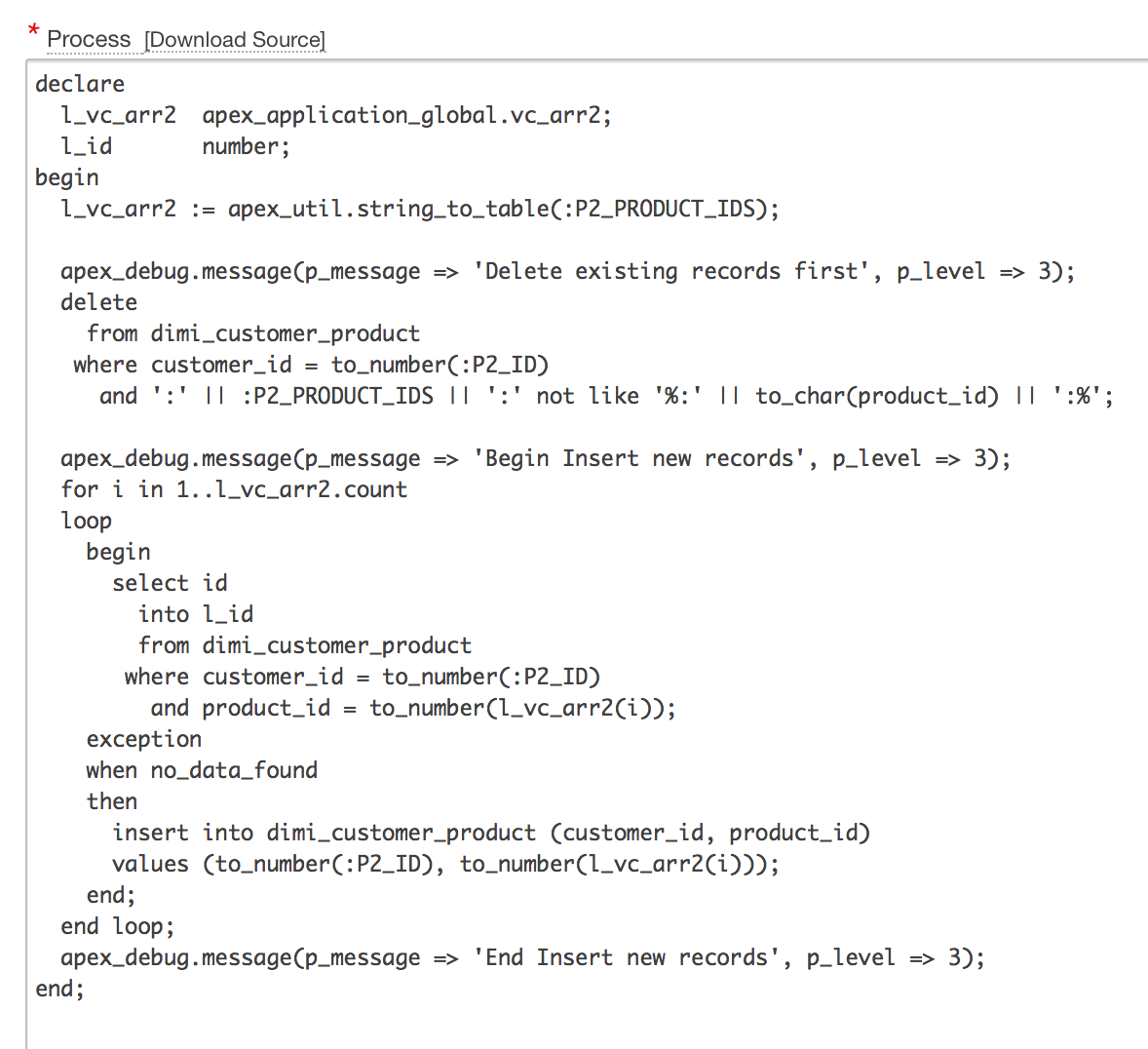 Oracle forms data blocks on different sources - Dimitri Gielis Blog Oracle Application Express Apex