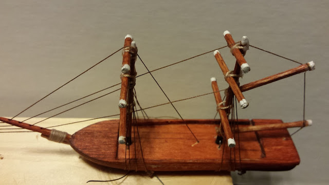 model ship rigging