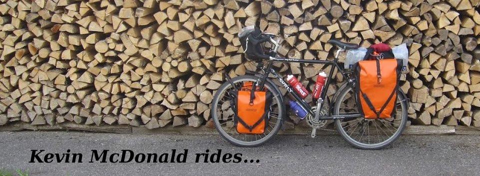 Kevin McDonald rides...