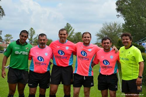 El equipo de árbitros - Bambi Soleverez 2014