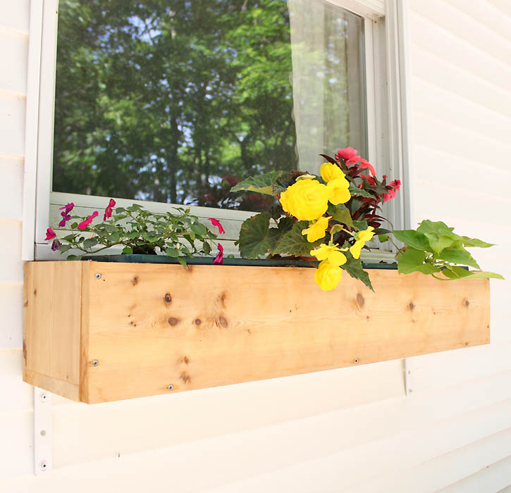 Diy Cedar Window Boxes Gina Michele