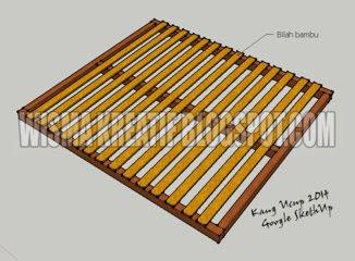 Membuat Kandang Kelinci Sistem Battery Kreasi Sendiri
