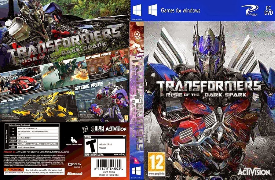 Download Game Transformers Rise of the Dark Spark Full Version