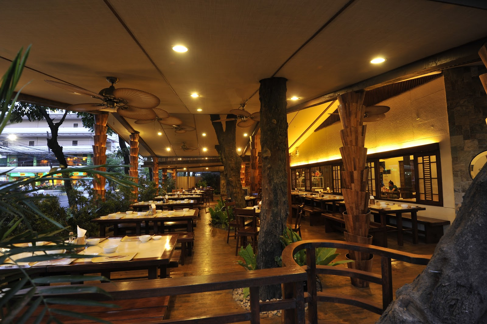 Hl designs golden cowrie native restaurant