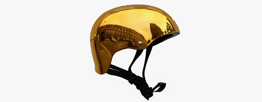 Bobbin Gold Helmet