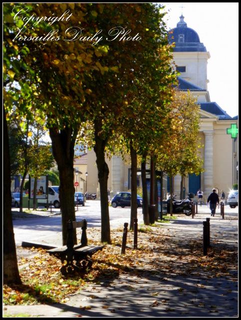 Versailles Saint Symphorien autumn