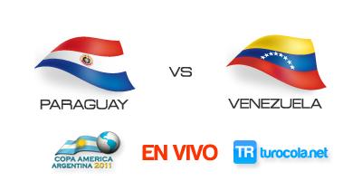Ver Partido Paraguay vs Venezuela en VIVO