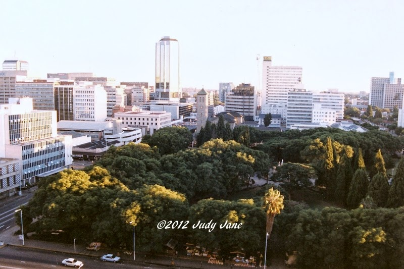 Green spaces in Harare