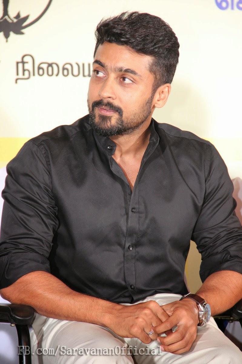 Actor Suriya Aka Saravanan Sivakumar Latest Cute Photos
