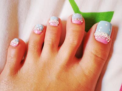 Como pintar las uñas de mis pies 2016, 2017
