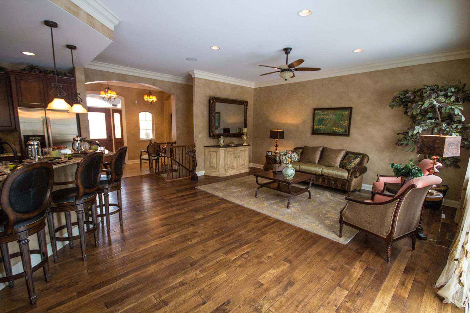 Hardwood floors what are my options for Most popular flooring in new homes