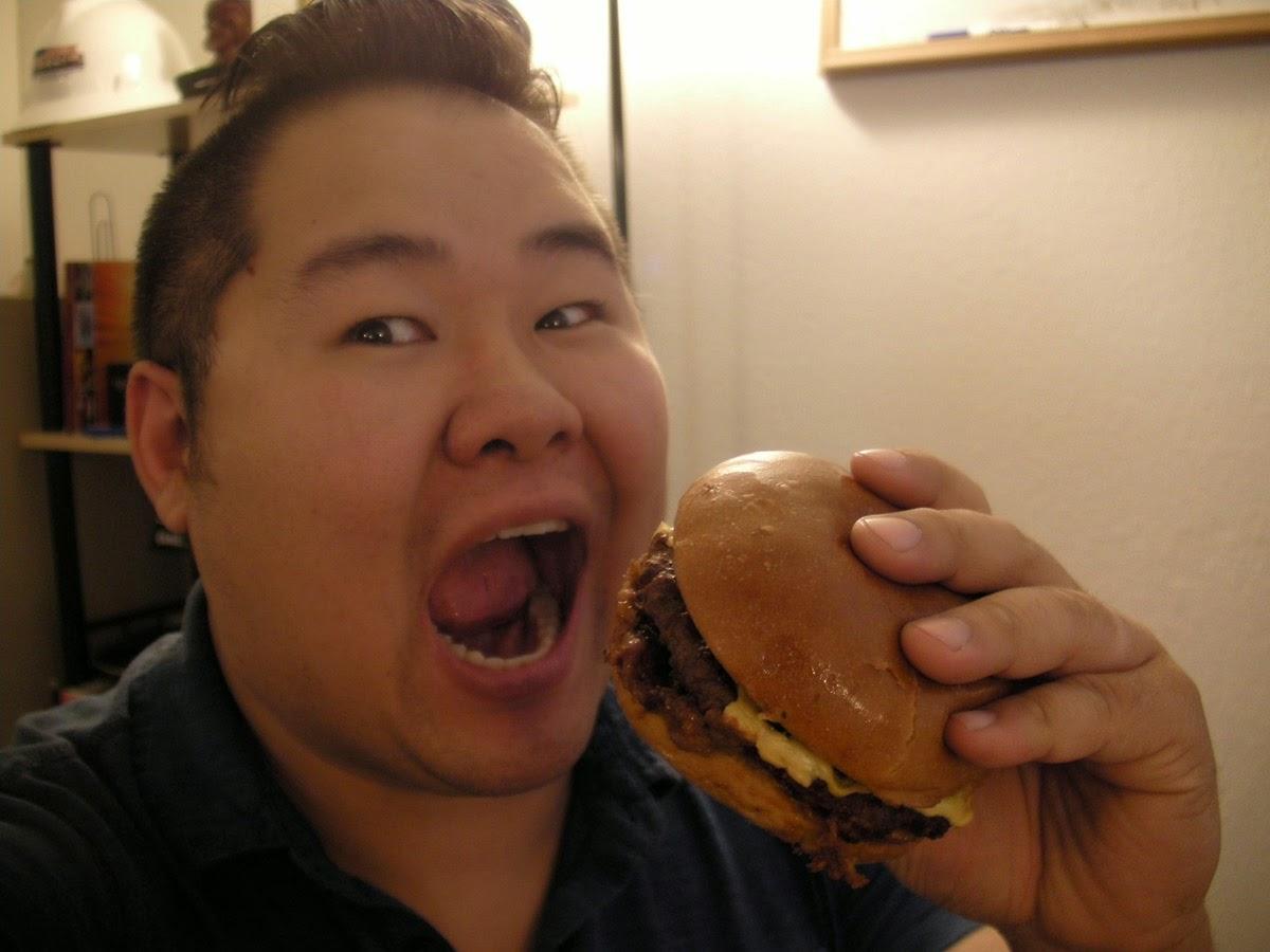 Carl's Jr. 1/3 lb Texas BBQ Thickburger Mark Lim