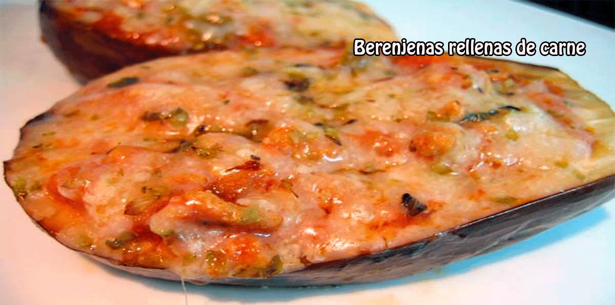 Berenjenas rellenas de carne recetas f ciles - Berenjena rellena de carne ...