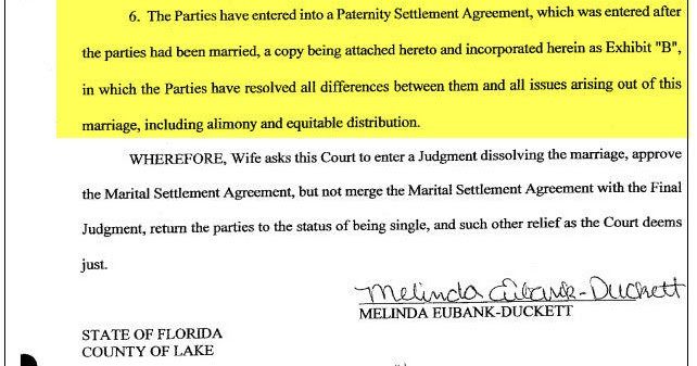 Was It Really Worth It The Paternity Settlement Agreement For