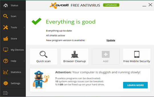 avast antivirus 2015 free download for pc