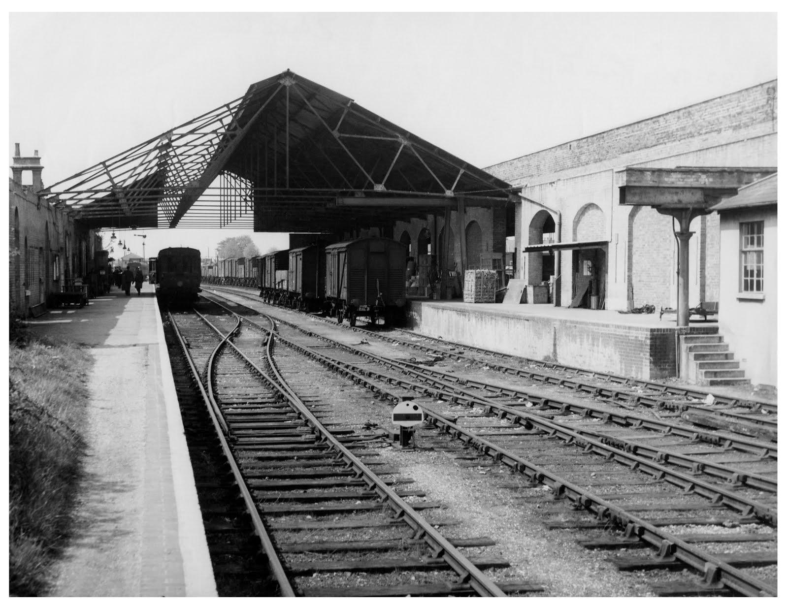 Gosport station 1960s