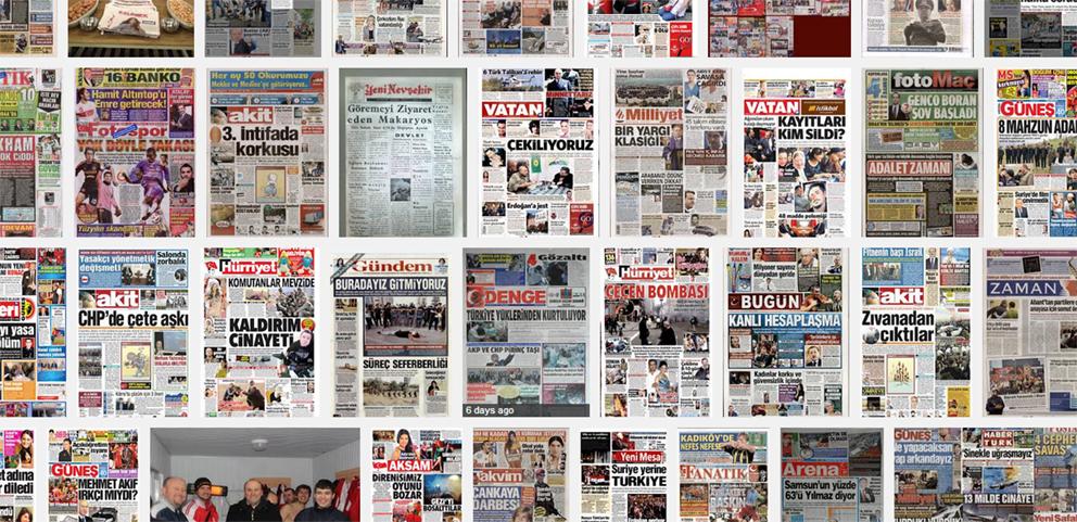 Gazeteler: güncel gazete manşetleri ve haberlere gazeteler bölümünden ulaşabilisiniz...
