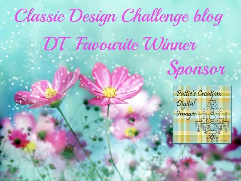 DT Favorite at Classic Design Challenge Blog