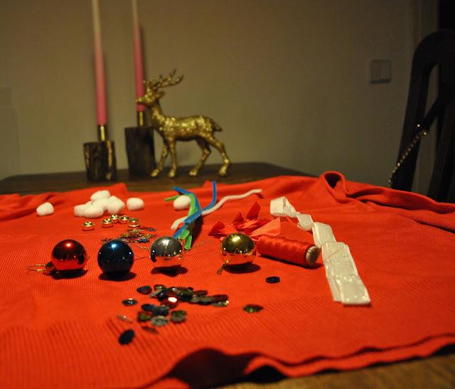 DIY Weihnachtspulli Set von Paperchase