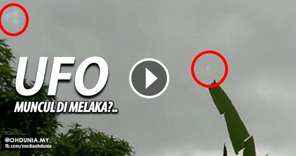 Pengguna Youtube Dakwa Objek Pelik (UFO) Muncul Di Melaka