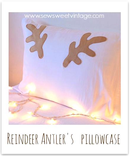 how to make fleece deer, moose or, reindeer antler hats and pillowcases
