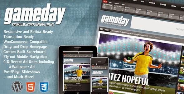 Gameday WordPress Sports Media