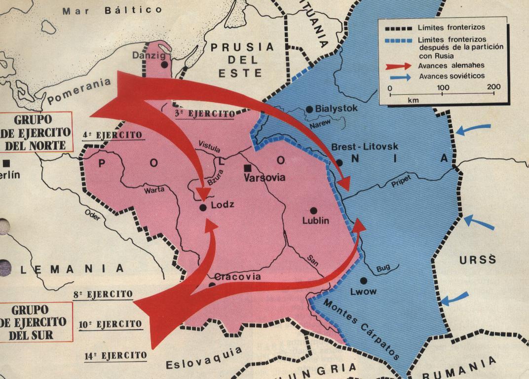 inicio y termino de la segunda guerra mundial: