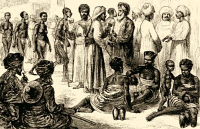 Arab slave market