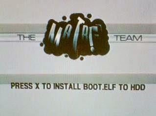 Instal BOOT.ELF Ke HDD PS2
