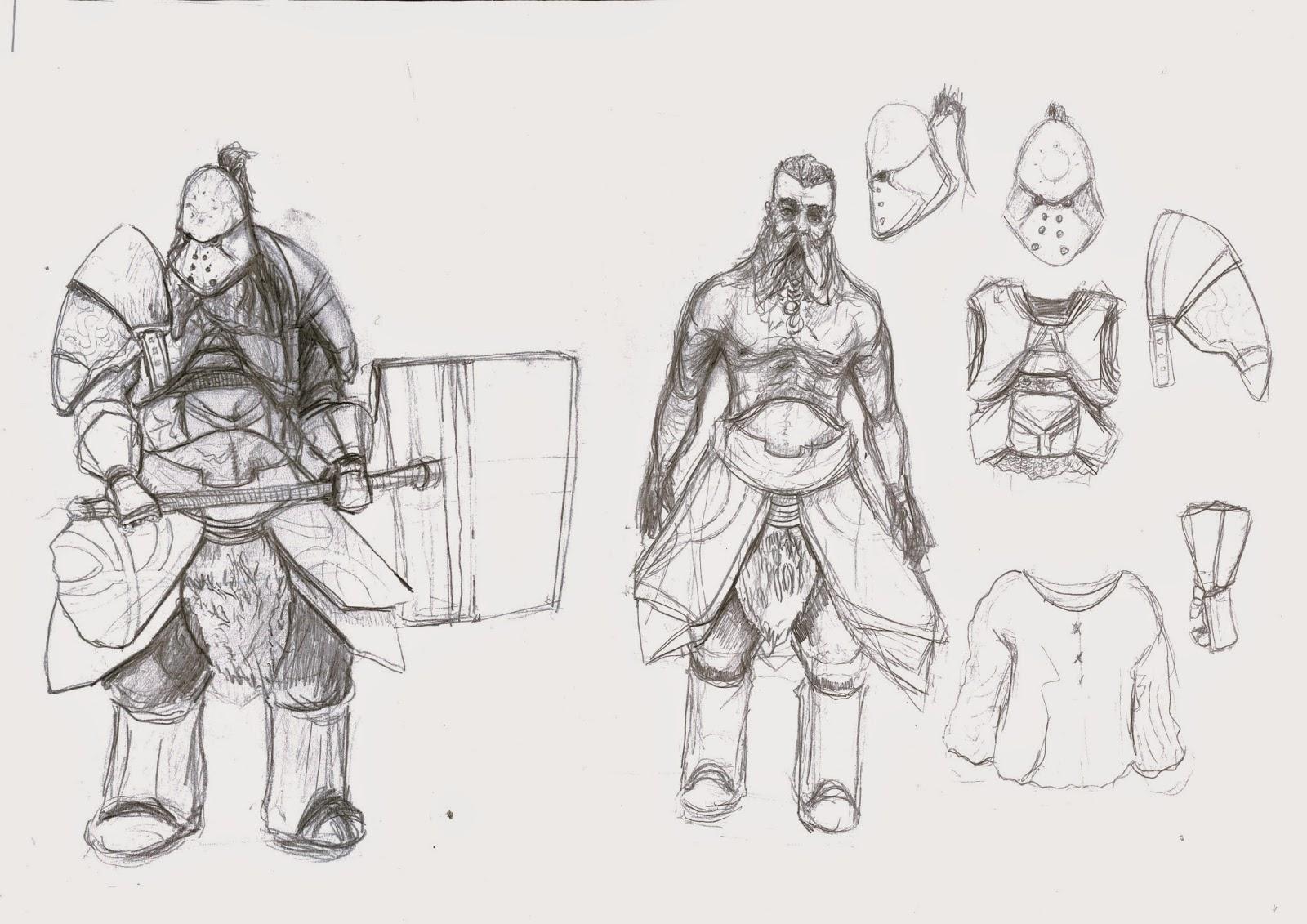Will Morley Cga Cga Human Character Anatomy And Head Sketches