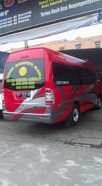 Travel Bontang Balikpapan Bandara PP Rizein executive class