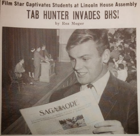 Tab Hunter in The Sagamore