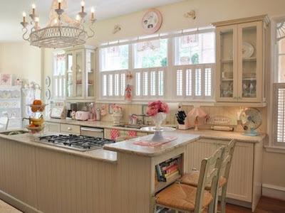 Decora el hogar decoraci n vintage rom ntica para la cocina for Decoracion romantica vintage