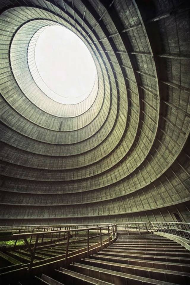 06. Cooling tower of an abandoned power plant