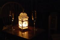candlelight, lantern, wine tasting, cellar http://www.madmumof7.com