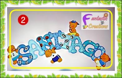 Letras decorativas para habitaciones infantiles - Letras decorativas infantiles ...