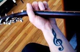 La Música... es el único tatuaje que no necesita tinta y no se borra del alma.