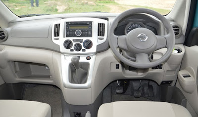 Spek spesfikasi Nissan Evalia