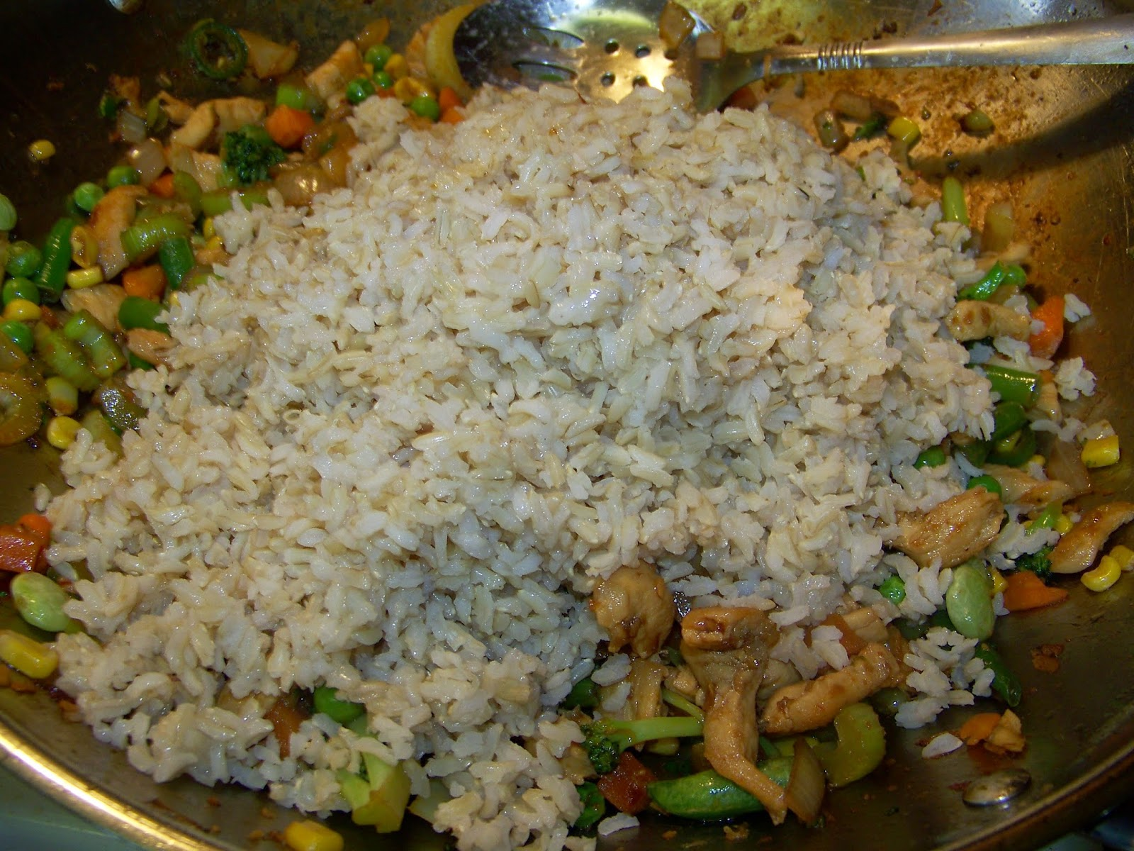 how to make quick fried rice
