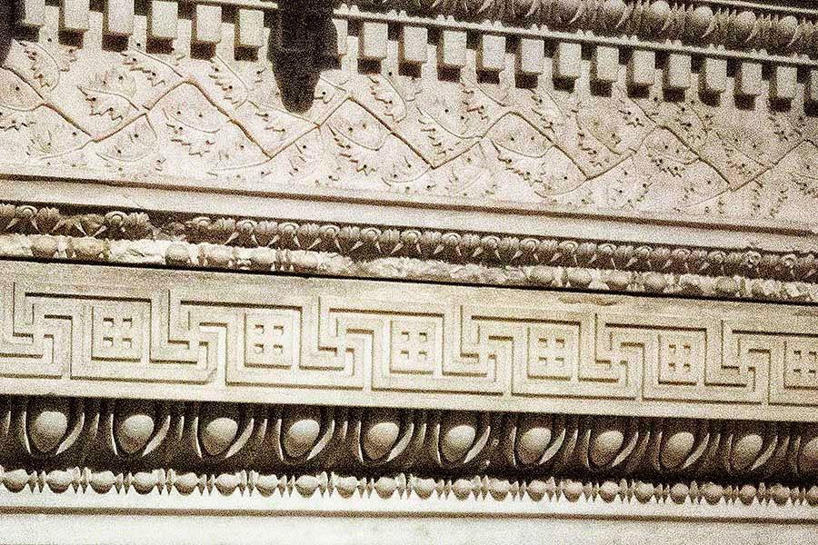 Alexander Sarcophagus geometric borders