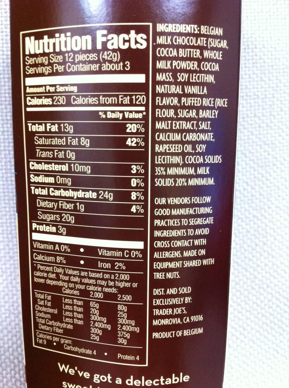 I'm Made of Sugar! - Chihiro's food blog: Trader Joe's Milk ...