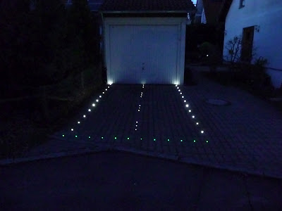cybertronics the driveway lighting project. Black Bedroom Furniture Sets. Home Design Ideas