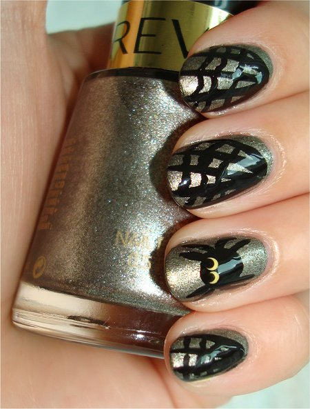 The Fascinating Spider nail designs Picture