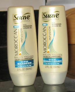 Suave Moroccan shampoo & conditioner